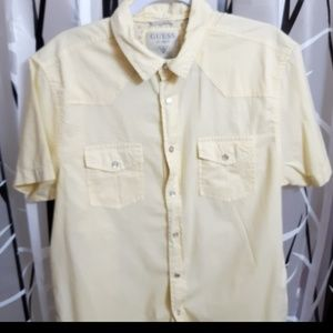 Guess Short Sleeve Button Up Shirt